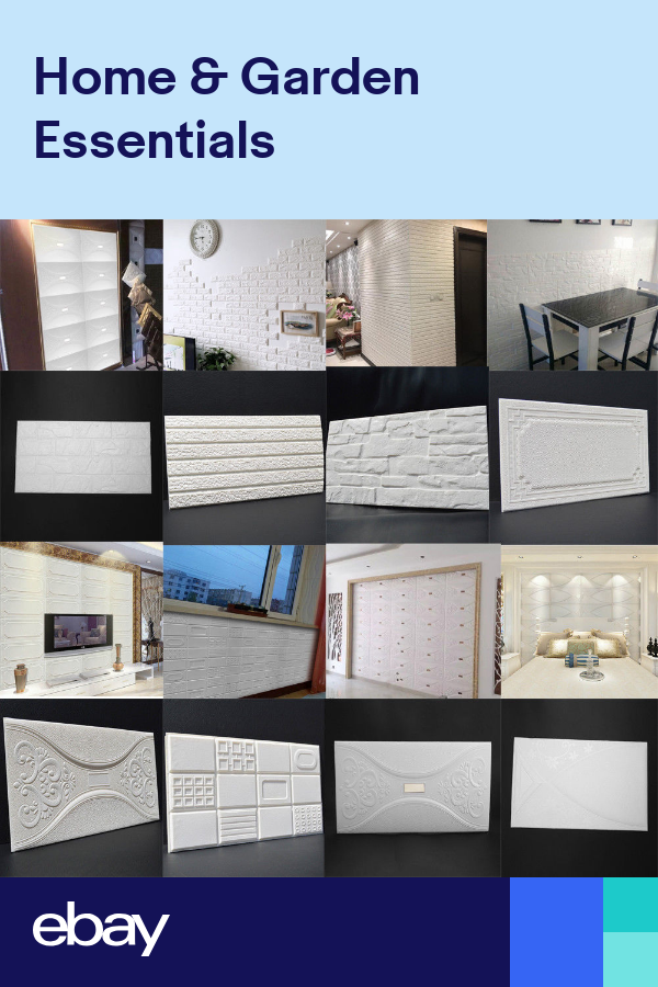 3D Foam Brick Wall Paper Wall Sticker Panels Back Decal