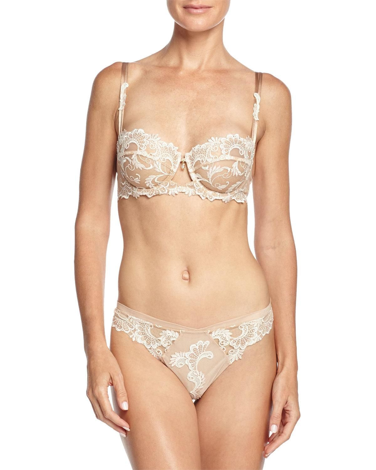6369b0a91f Lise Charmel Dressing Floral-Lace Thong | Products | Floral lace ...