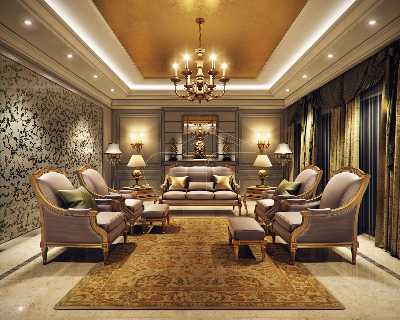 Luxury Kerala House Traditional Interior Design Simple House