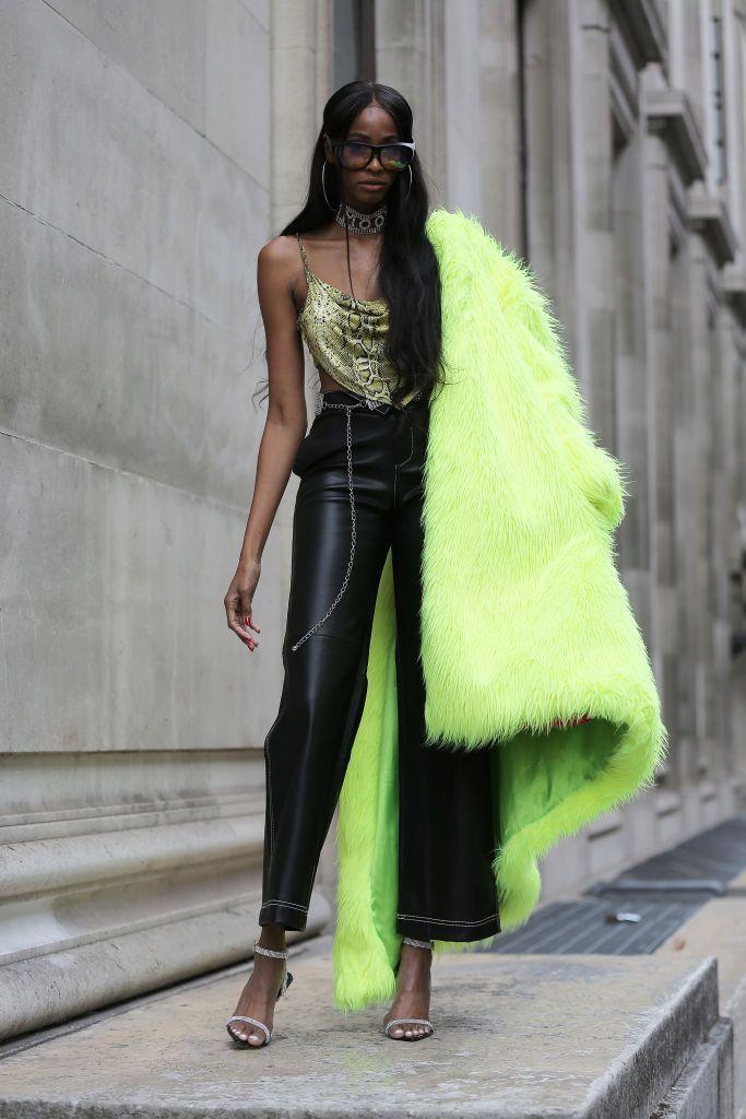 Rosella May – catwalk show during London Fashion Week September 2018…