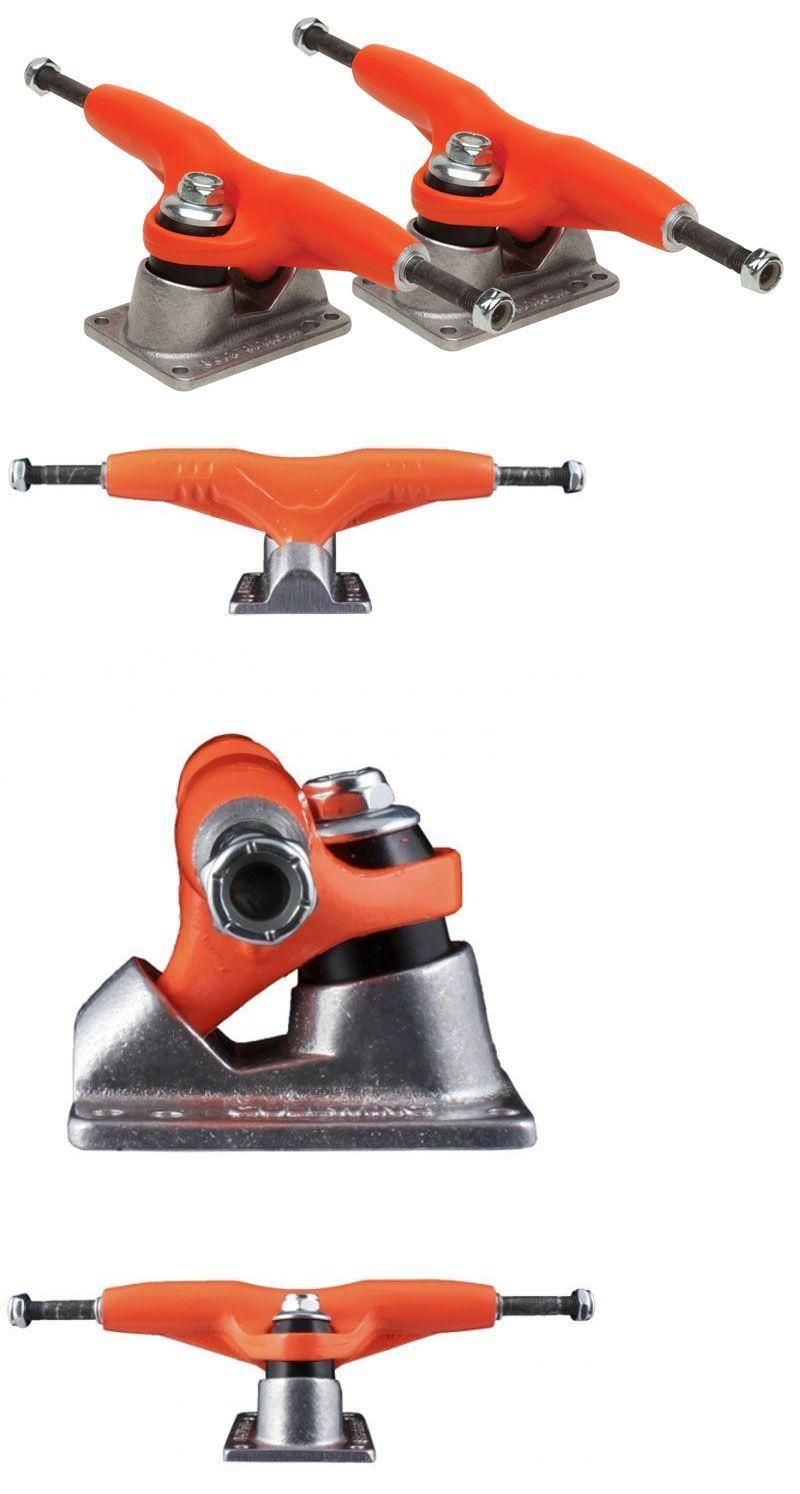Trucks 36625: Gullwing Pro 3 Iii Reissue 8.75 Skateboard Trucks Orange Silver -> BUY IT NOW ONLY: $46.95 on eBay!