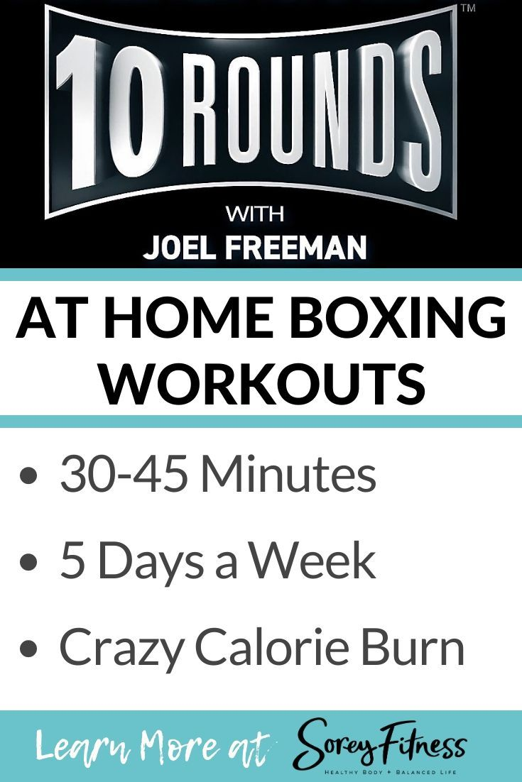 Joel Freeman's 10 Rounds workout coming to Beachbody on Demand is a high intensity boxing and streng...