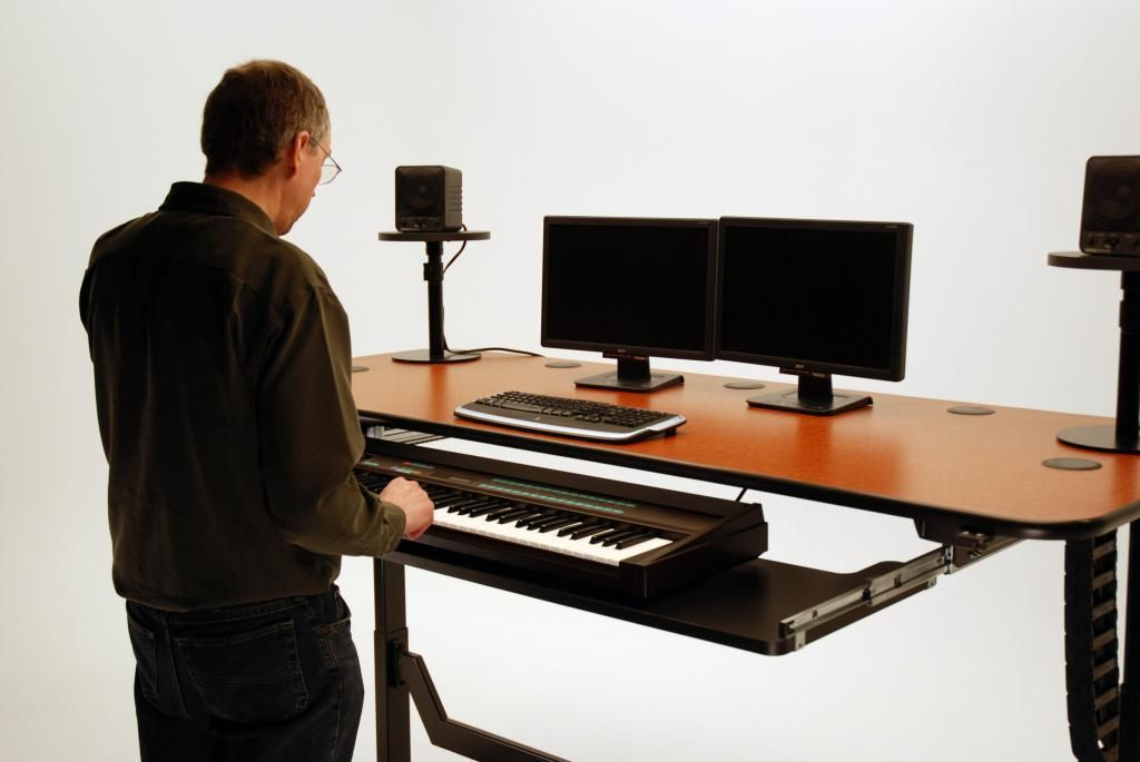 Ergo Music Height Adjule Production Desk Martin Ziegler
