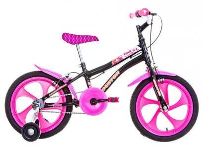 Bicicleta Infantil Houston Tina Aro 16 - Freio Sidepull com as melhores condições você encontra no Magazine 233435antonio. Confira!