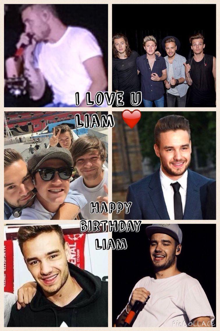 I love u Liam happy happy happy birthday Liam payne