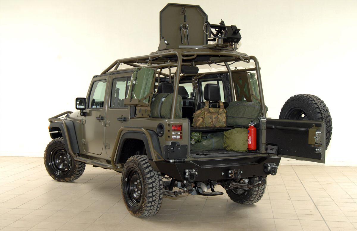 J8 Light Patrol Vehicle 4 door Vehicles, 2006 jeep