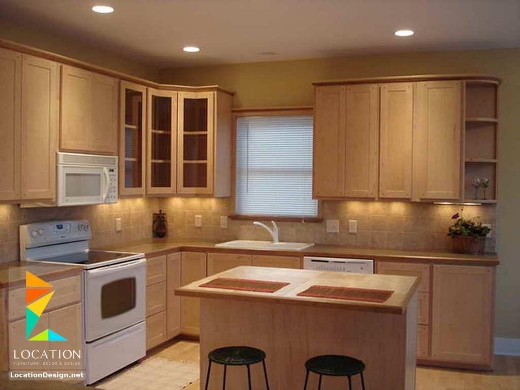 أشكال مطابخ خشبية بتصميمات عصرية دهانات مطابخ خشب 2017 2018 Kitchen Decor Kitchen Cabinets