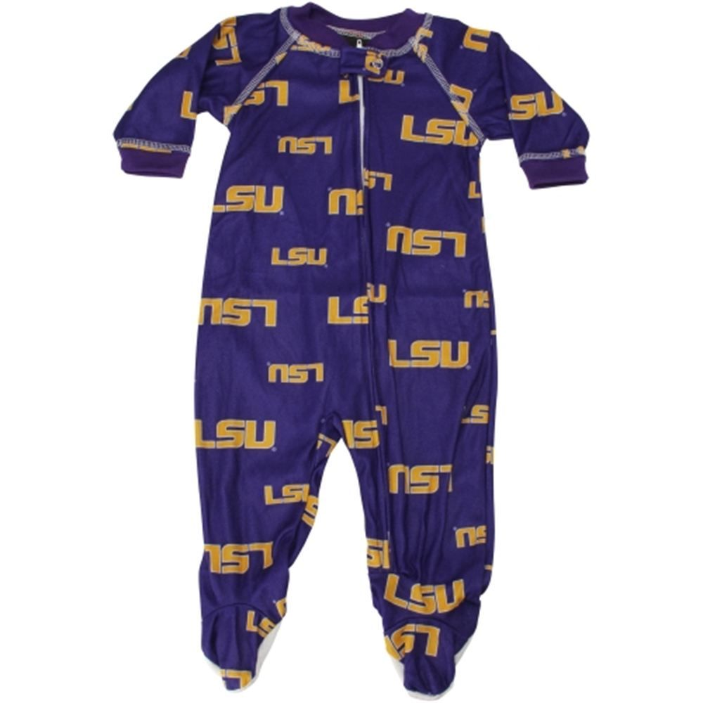 Louisiana State University LSU Tigers Baby Overalls