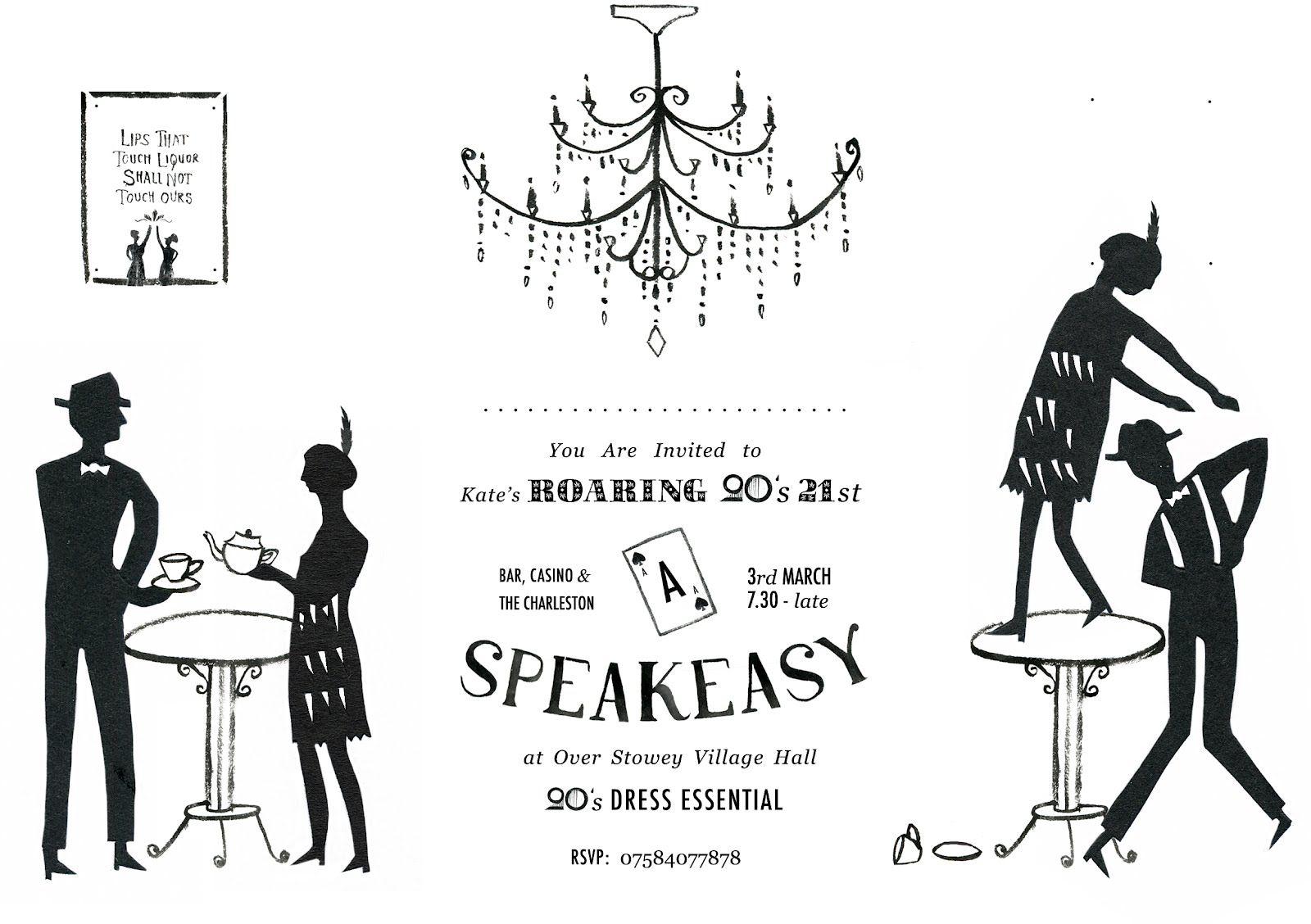 roaring twenties party ideas | ... Party http://hannahrbailey ...