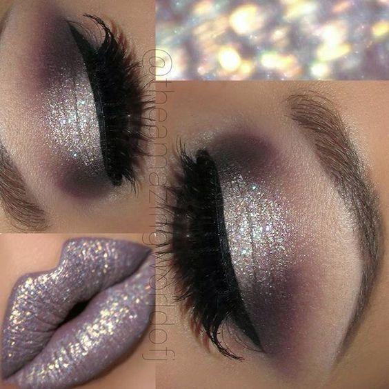 Dusky Lilac Sparkle