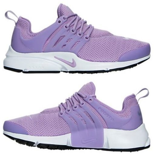 42174432445e NIKE AIR PRESTO WOMEN s RUNNING M PURPLE - BLEACHED LILAC - WHITE AUTHENTIC  NEW