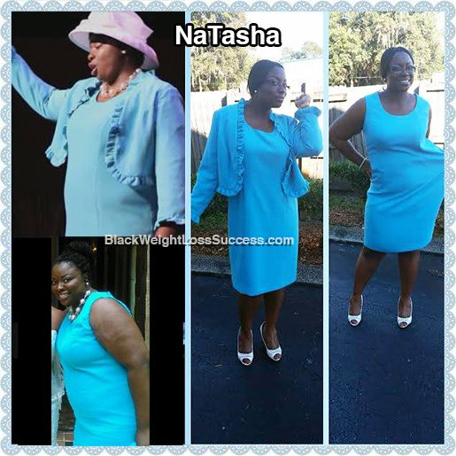 NaTasha lost 63 pounds and has gone from a size 22 to a size 14. This proud mom and talented singer wanted to be more active for her daughter. She felt like she was slowly killing herself by not taking care of herself, so she decided to change.