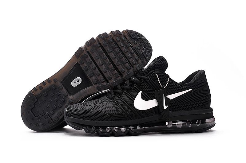 nike air max 2017 kpu mens running shoes black white