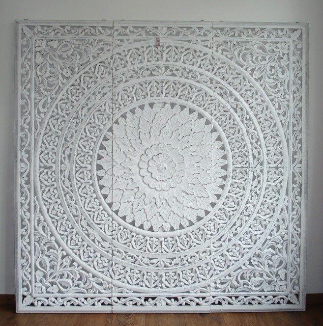 160 x 160 cm Wandpaneel Barcelona white slaapkamer Pinterest - wandpaneel küche glas