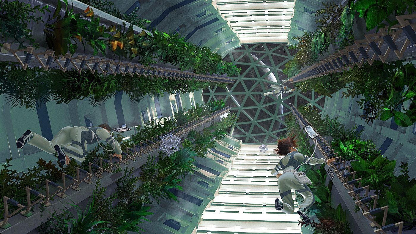greenhouse space station - photo #5