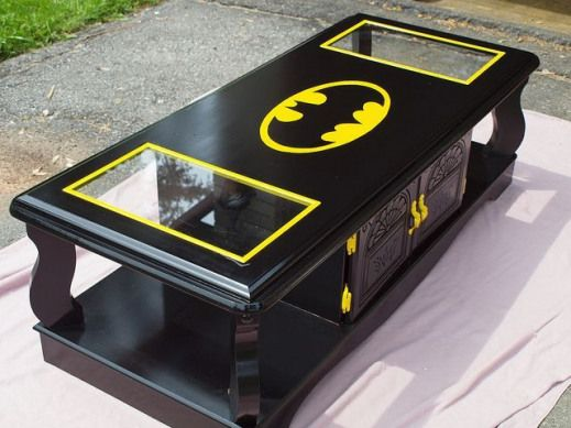 Photo of Batman Table #recreationalroom #recreational #room #man #cave