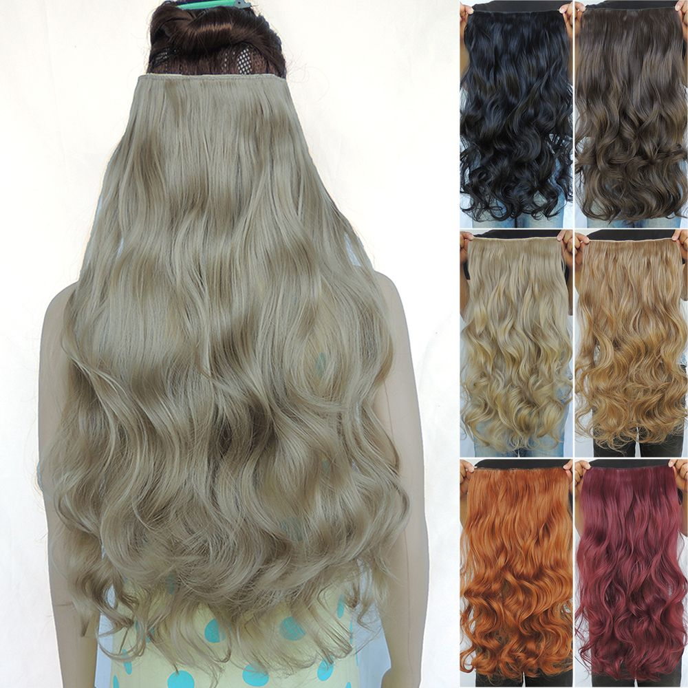 Ek saç hair extension clip in hair extensions synthetic extentions