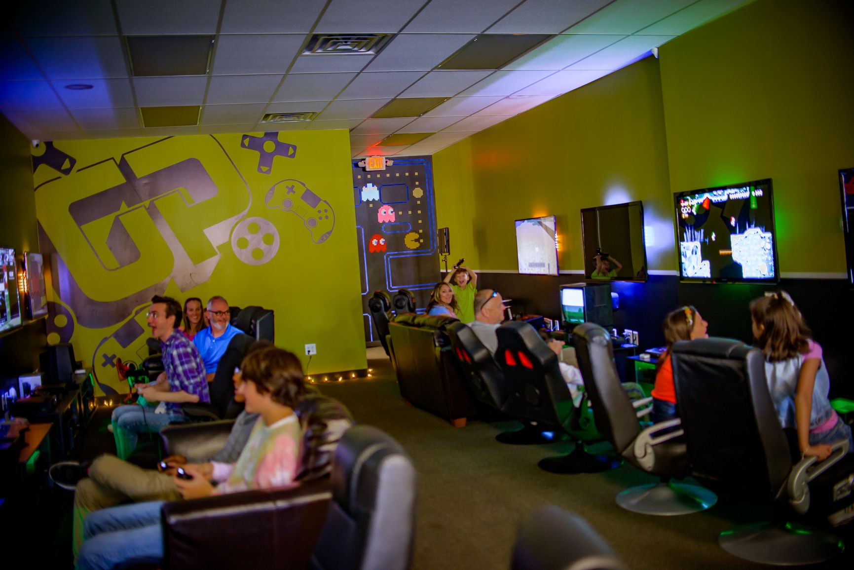 Open Lounge Tomorrow Gaming Lounge Video Game Games