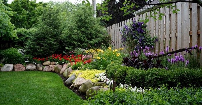 Landscaping Ideas For Front Yard Shade : Full shade landscaping ideas for front yard ranch house