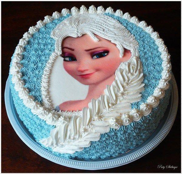 Bolo Tranca Da Elsa Frozen Cake Jpg 600 573 Pixelu Com Imagens