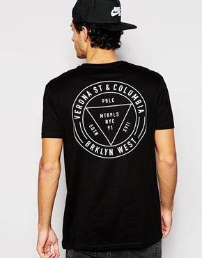 ASOS T-Shirt With Back Print  7ff339b49fa