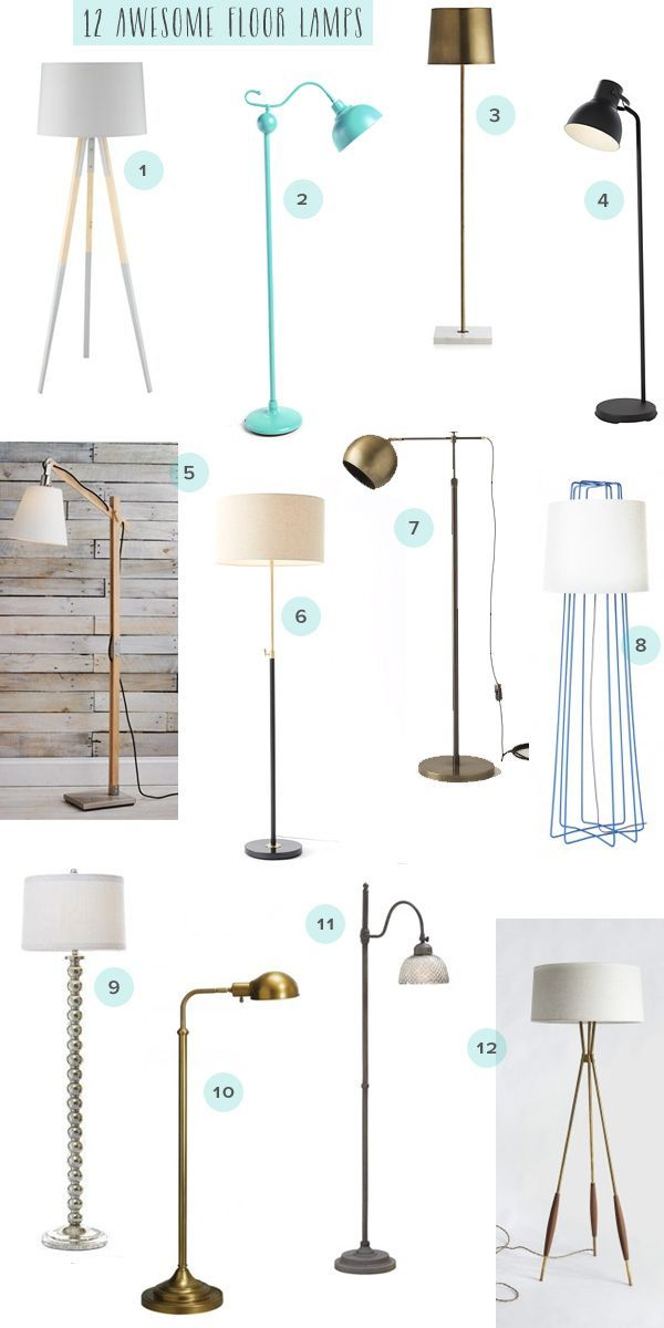 Charmant Living Room Reading Nook + 12 Awesome Floor Lamps