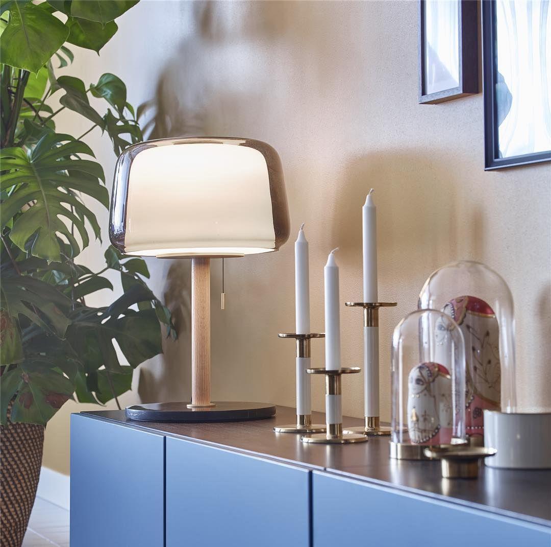 Ikea France On Instagram Intemporelle La Lampe Evedal Au Design Scandinave Eclaire Votre Coin Prefere De La Maison Ikeaf Lampes De Table Table Grise Ikea