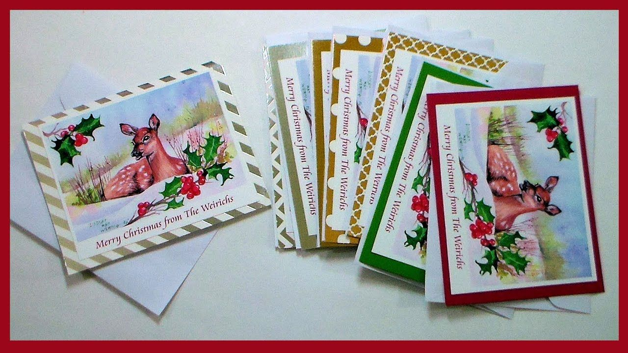 How To Scan Your Art and Make Greeting Cards at Home  Printed