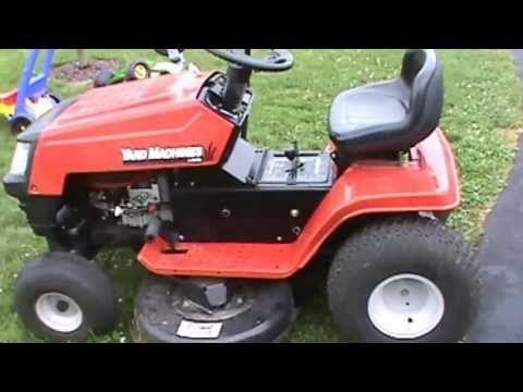 Mtd Yard Machine Tractor Quick Flip Youtube Lawn