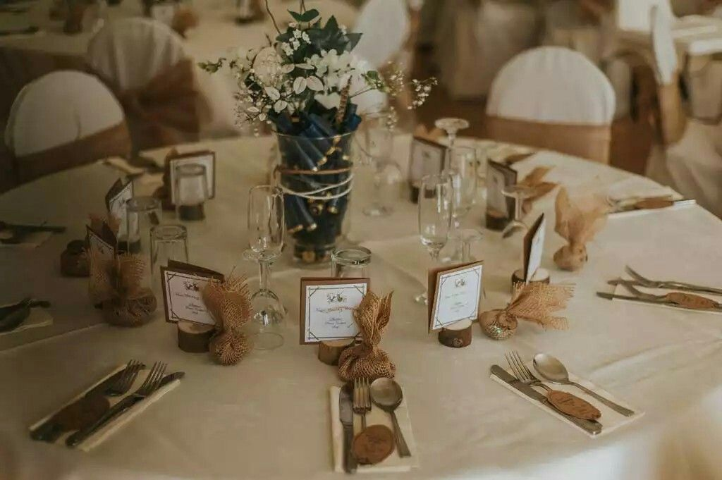 Hunting Wedding Theme Table Decorations Hunting Wedding