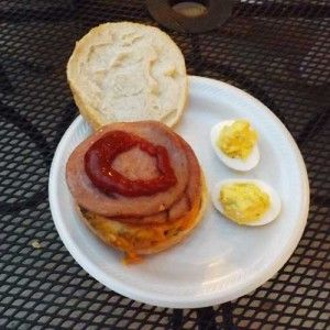 Pork Roll Burgers