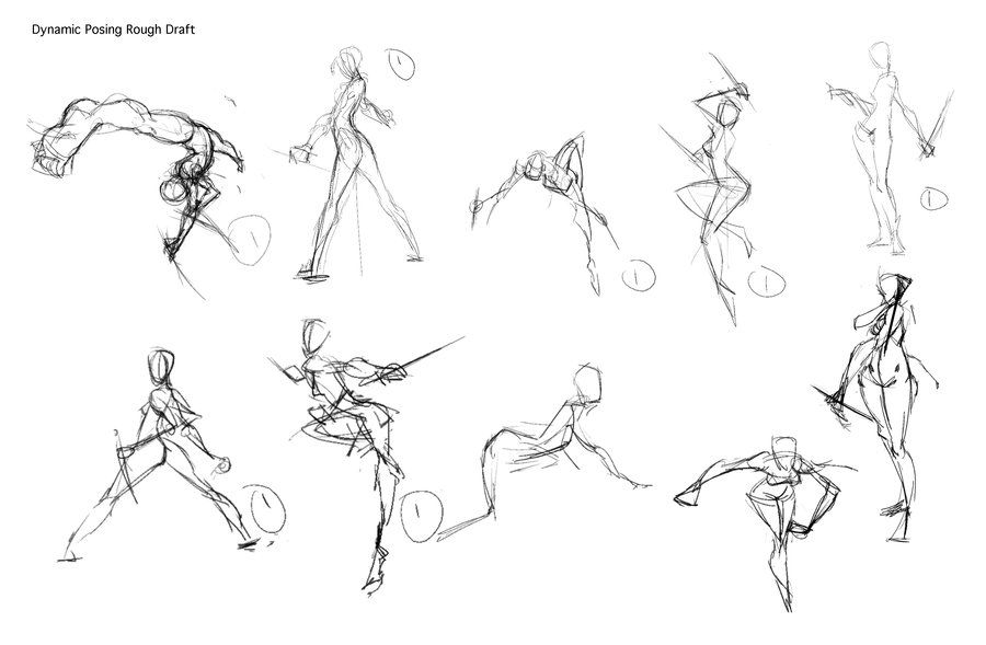 How To Draw Dynamic Poses By Jeteffects On Deviantart Dynamic Poses Life Drawing Pose Drawings