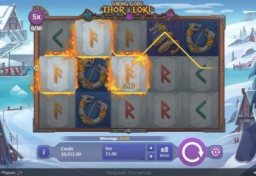 игровой автомат викинги