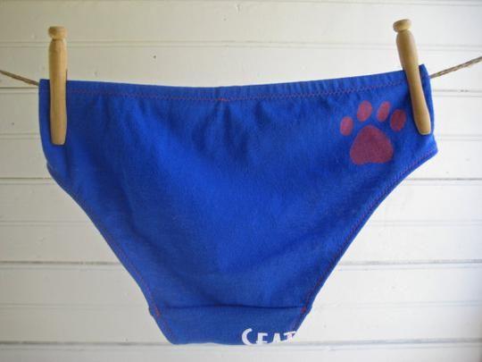 Custom Boy-Cut Underwear From Your Old Favorite Tee Shirt by La Vie en Orange | Hatch.co #custom