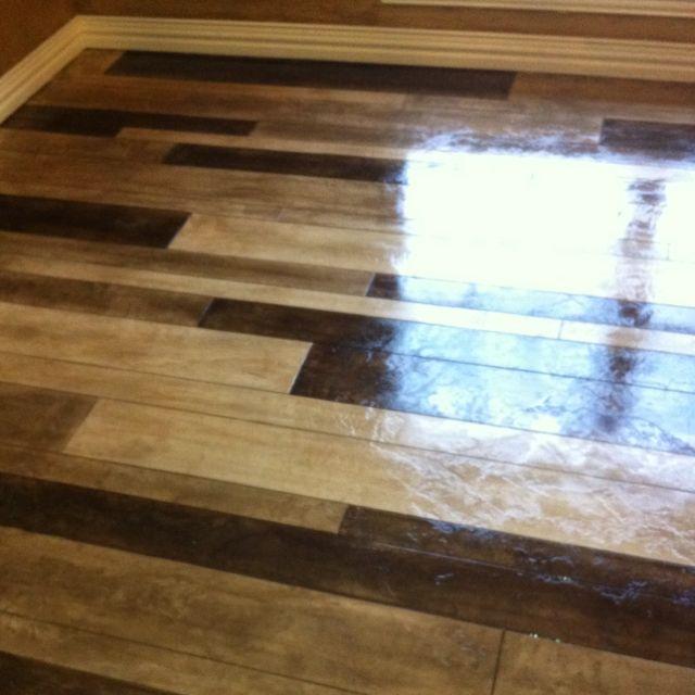 Concrete Wood Floor. From Www.ptconcretecom...
