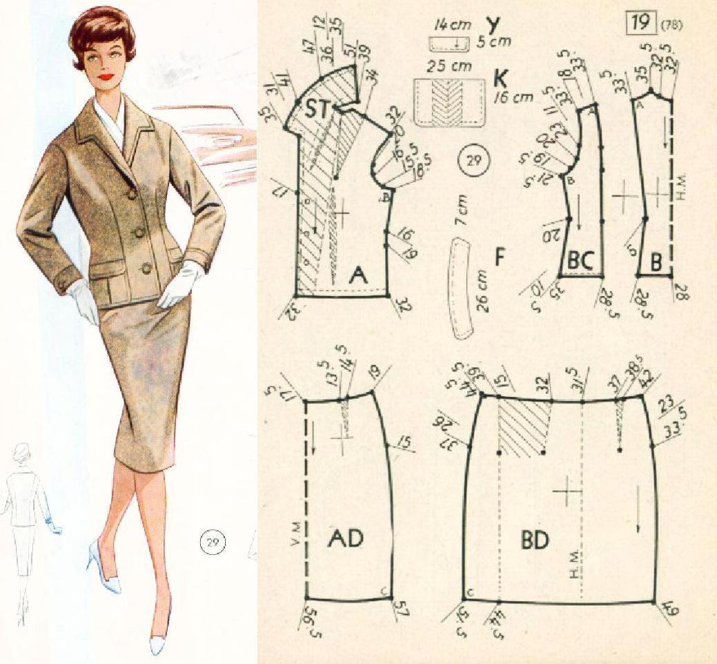 modele couture vintage