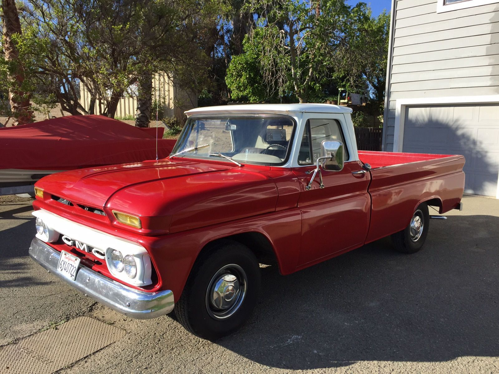 1965 gmc series 1000 longbed truck for sale