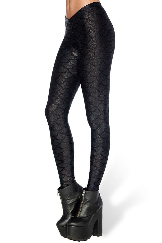 43f690417464ff Merman Leggings 2.0 | Clothes in 2019 | Black milk clothing, Black ...