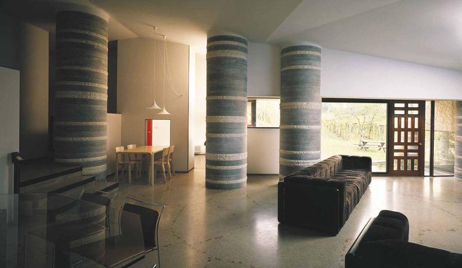 Casa ottolenghi bardolino verona italy 1974 1979 - Interior design verona ...