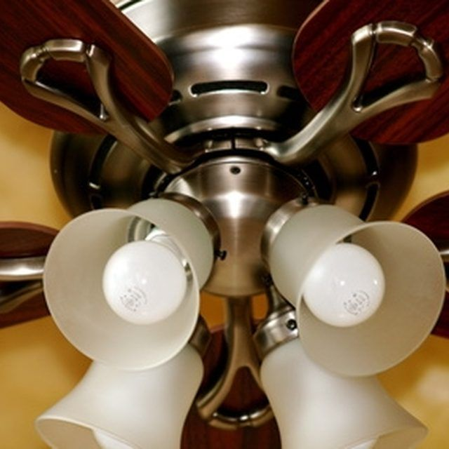 How To Troubleshoot A Ceiling Fan Light Kit That Popped Stopped Working Hunker Ceiling Fan Light Kit Fan Light Kits Ceiling Fan