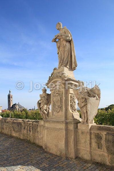 Statue of St. Joseph of Calasanza, Jesuit College, Kutna Hora, Czech Republic…