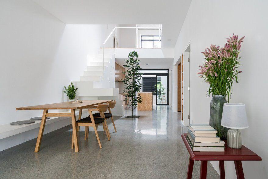 Minimalist Single Storey Terrace House Fabian Tan Architect