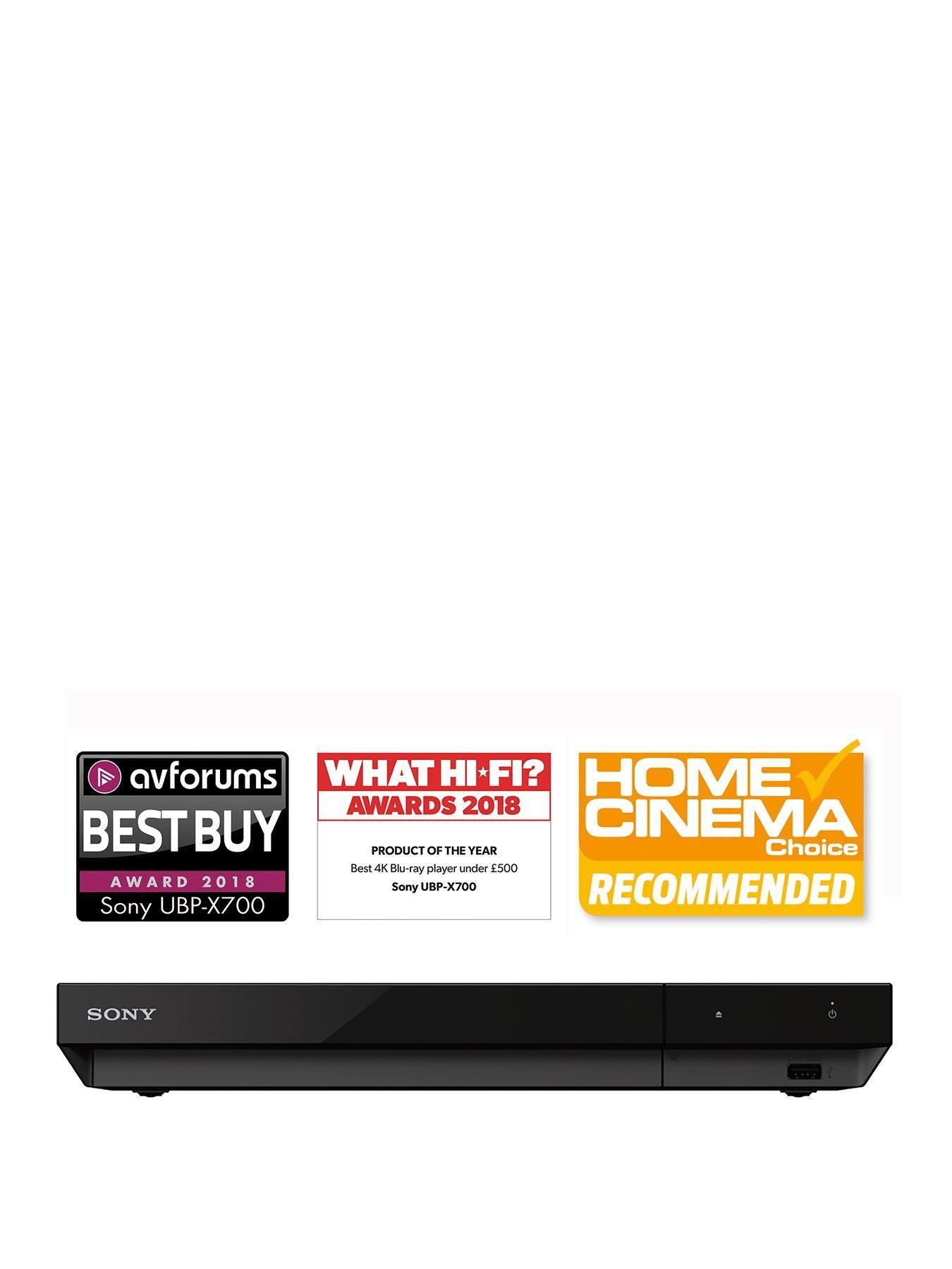 Sony Ubp X700 4k Ultra Hd Blu Ray Player Black Black Dolby