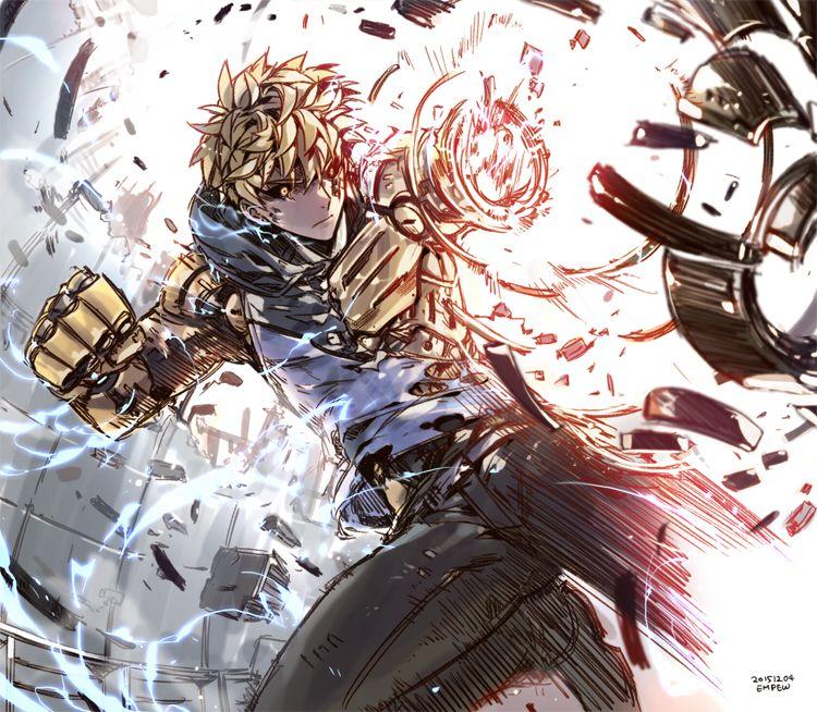 One Punch Man (ワンパンマン) , Genos (ジェノス)