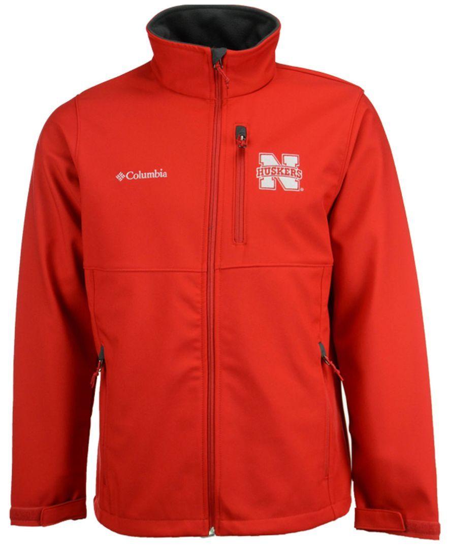 Columbia Men's Nebraska Cornhuskers Ascender Softshell Jacket