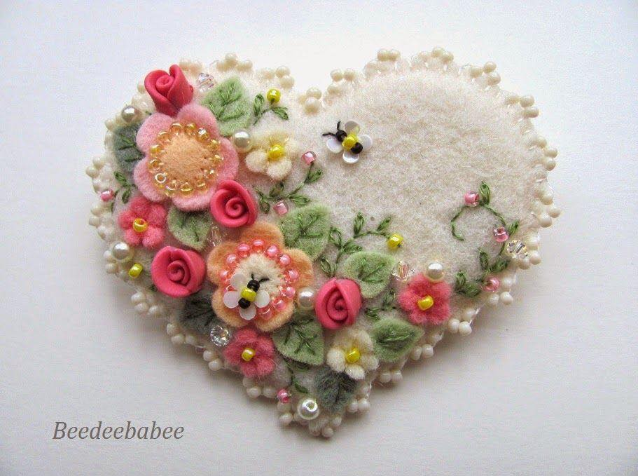felt flower craft ideas creativemamy фетр appliqu 233 feutr 233 e 4456