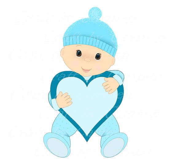 free clipart baby shower boy - photo #16