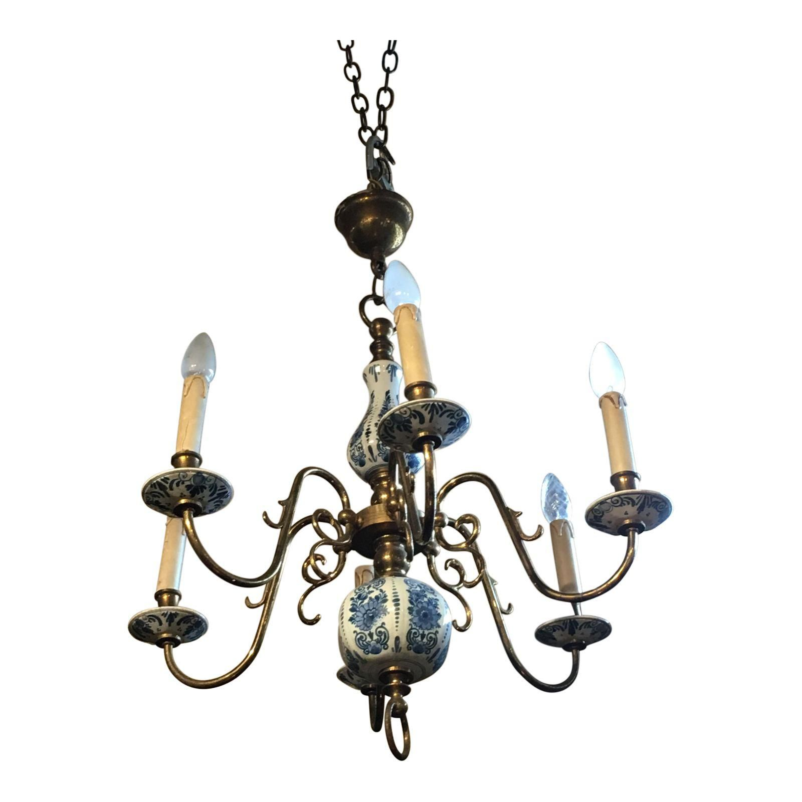 Delft blue porcelain chandelier delft porcelain and chandeliers delft blue porcelain chandelier mozeypictures Gallery