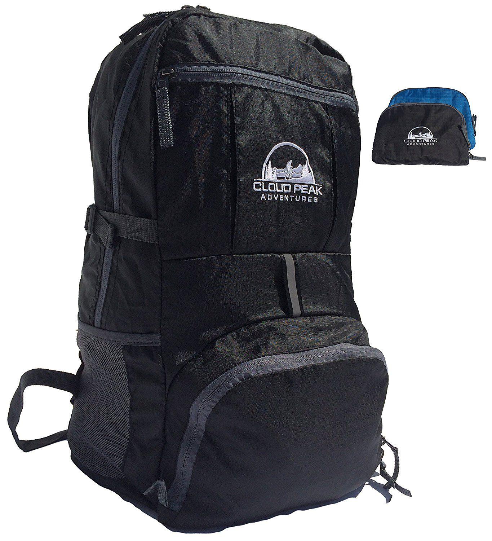 Travel Backpack - Cloud Peak Blacktooth 1.0 - Lightweight Packable ...