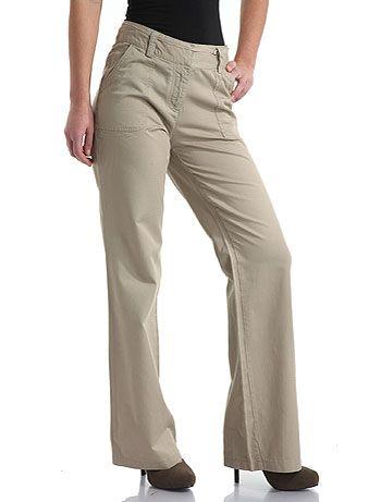 Pantalones De Gabardina Para Dama 5 Jpg 350 461 Pantalon Dama Pantalones Gabardina